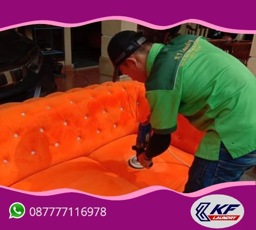 Cuci (laundry) sofa -KF Laundry, Mampang, Jakarta Selatan