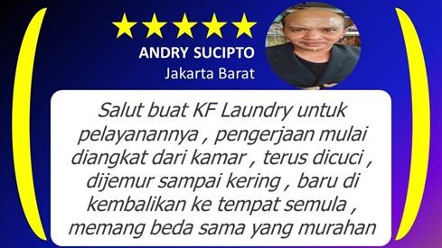 Andri-Testimoni - KF Laundry Jakarta Selatan