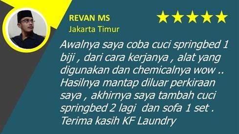 Revan-Testimoni- KF Laundry Jakarta Selatan